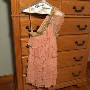 Free people raffle mini dress
